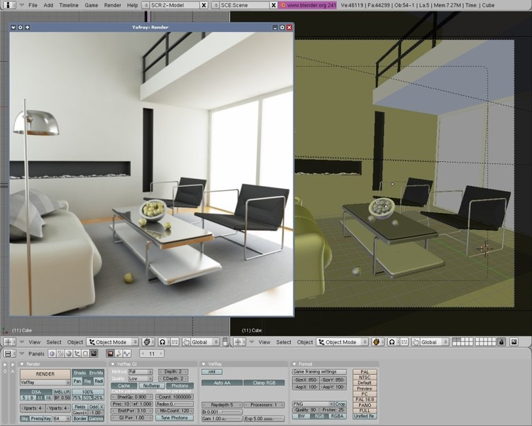 Blender un logiciel de 3d pro gratuit technologie mr for Rendering gratis
